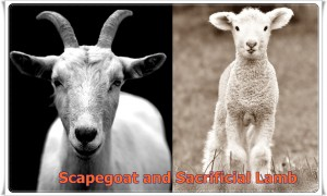 Scapegoat and Sacrificial Lamb
